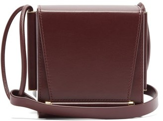 Roksanda Box Leather Cross-body Bag - Womens - Brown