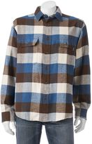 Woolrich Men's Tall Pine Classic-Fit Heavyweight Flannel Button-Down Shirt