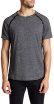Kenneth Cole New York Short Sleeve Seam Seal Crew Neck Shirt