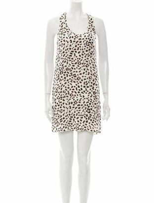 Alexander Wang Silk Mini Dress White