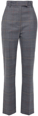 Paul & Joe Prince Of Wales Checked Jacquard Straight-leg Pants