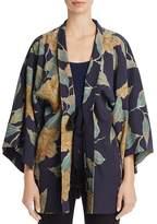 Elizabeth and James Drew Oversize Floral-Print Kimono