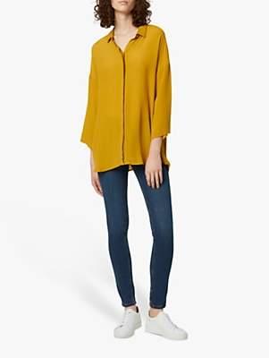 French Connection Etta Silk Blend Shirt