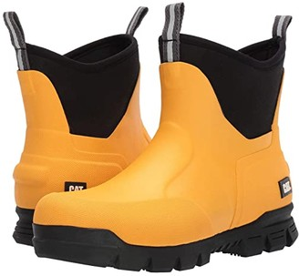 Caterpillar Casual 6 Stormers (Cat Yellow/Black) Men's Rain Boots