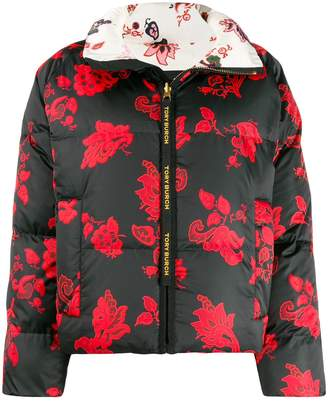 Tory Burch floral zipped jacket