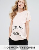 Asos Coming Soon Slogan T-Shirt