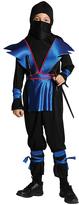Black & Blue Ninja Master Dress-Up Set - Kids