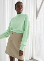 And other stories Duo Pocket Mini Skirt