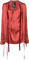 Ann Demeulemeester oversized long sleeve top