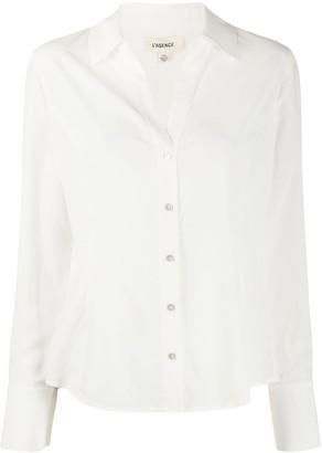 L'Agence Priscilla slim-fit shirt