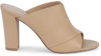 Vince Heath Leather Mule Sandals