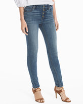 White House Black Market High-Rise Skinny Ankle Jeans