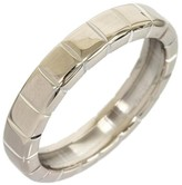 Chopard 18K White Gold Ice Cube Band Size 8 Ring