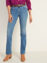 Old Navy Mid-Rise Medium-Wash Kicker Boot-Cut Jeans for Women