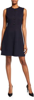 Elie Tahari Louisa Sleeveless Fit-&-Flare Dress