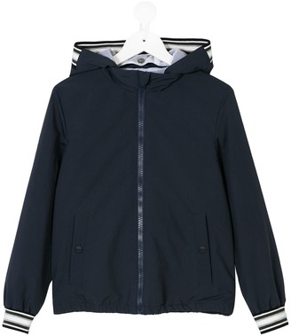 Herno Hooded Bomber Jacket