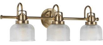 Birch LaneTM Kost 3-Light Dimmable Vanity Light Birch Lane Finish: Vintage Brass