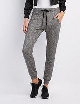 Charlotte Russe Zipper-Pocket Jogger Pants
