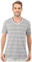 Tommy Bahama Yarn Dye V-Neck Short Sleeve T-Shirt