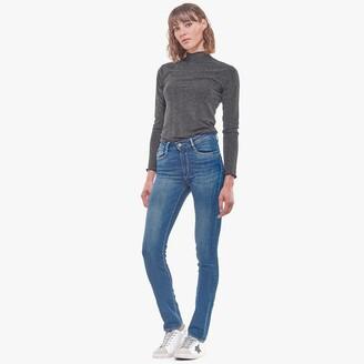 Le Temps Des Cerises Pulp Straight Jeans with High Waist