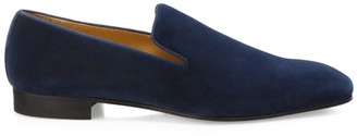 Paul Stuart Harrier III Velvet Loafers