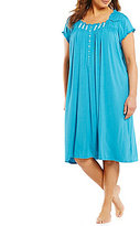 Eileen West Plus Jersey Ballet Nightgown