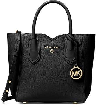 MICHAEL Michael Kors Mae Small Leather Satchel
