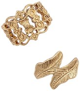 Forever 21 Filigree Ring Set