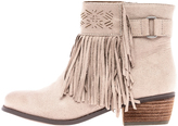 Not Rated Spunky Fringe Bootie