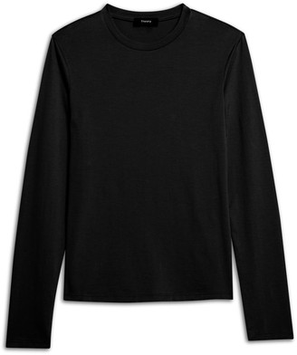 Theory Tiny Long-Sleeve Apex Tee