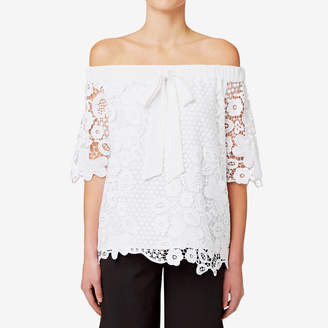 Seed Heritage Off Shoulder Lace Top