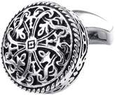 Konov Jewelry 2pcs Mens Vintage Celtic Cross Shirts Cufflinks, Wedding