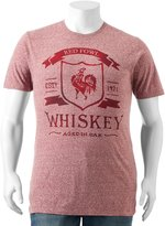 """SONOMA Goods for Life Big & Tall SONOMA Goods for LifeTM """"Red Fowl Whiskey"""" Tee"""