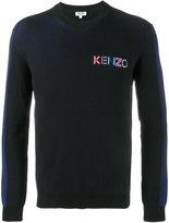 Kenzo embroidered logo jumper - men - Cotton - XS