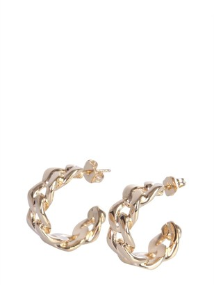 Maison Margiela Chain Studded Earrings