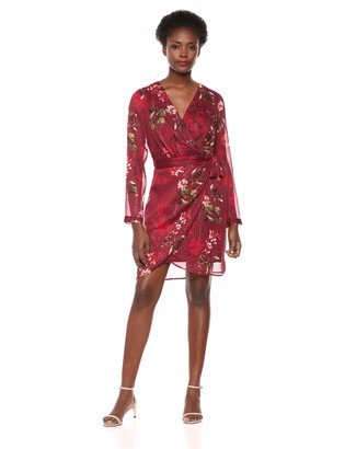 GUESS Women's Long Sleeve Camilla Dress