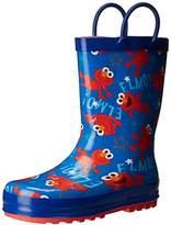Sesame Street Boys' Kid's Character Licensed Rain Boot