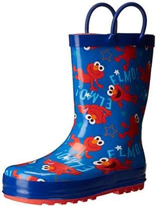 Sesame Street Boys' Kid's Character Licensed Rain Boots