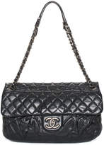 Chanel Black Quilted Leather Flap Bag