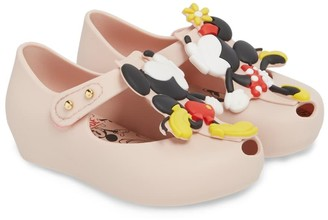 Mini Melissa Ultragirl Disney(R) Twins Waterproof Mary Jane (Toddler)