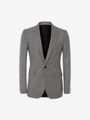 Alexander McQueen Hybrid Check Jacket