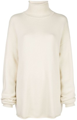 Extreme Cashmere roll-neck jumper