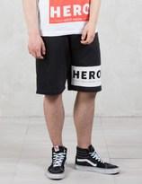 Hero's Heroine Hero Block Sweat Shorts
