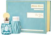 Miu Miu 50ml L'Eau Bleue Eau de Parfum Fragrance Gift Set