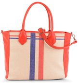 Maddi Racing Stripes tote