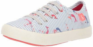 Joules Girls' JNR Coast Pump Sneaker