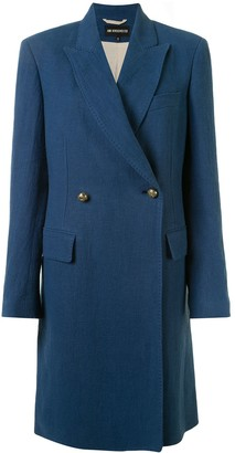 Ann Demeulemeester Double-Breasted Coat