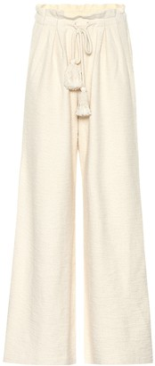 Ulla Johnson Ayana cotton-fleece pants
