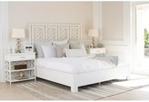David Francis Furniture Infinity Standard Bed Size: King, Color: White