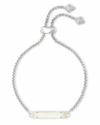 Kendra Scott Stan Adjustable Bracelet in Silver
